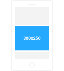 300x250 Medium Rectangle Mobile